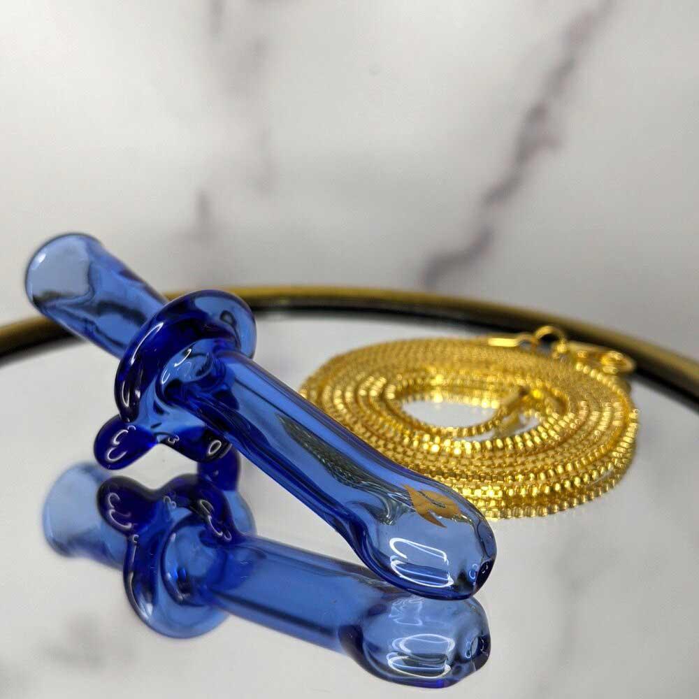curiously cobalt blunt holder