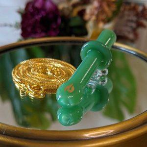 JTT Juicy Jade Chill Stone Glass Joint Holder