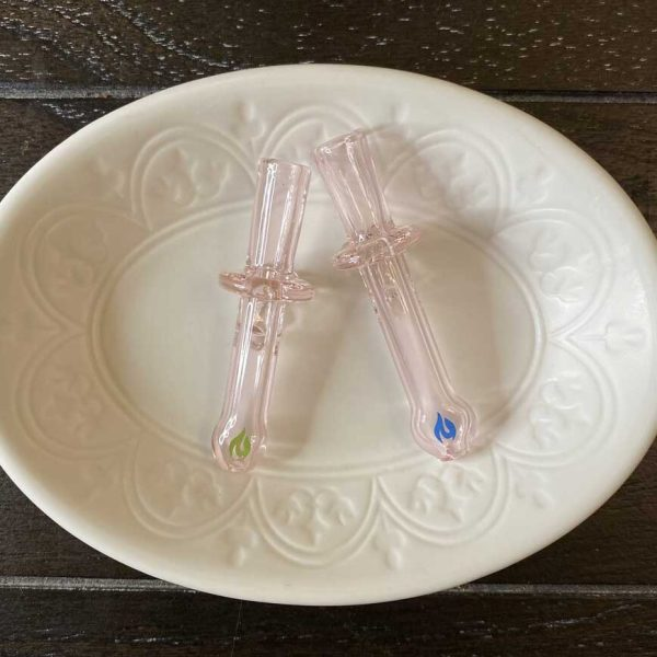 JTT Pink Sapphire Chill Stone Blunt Tips