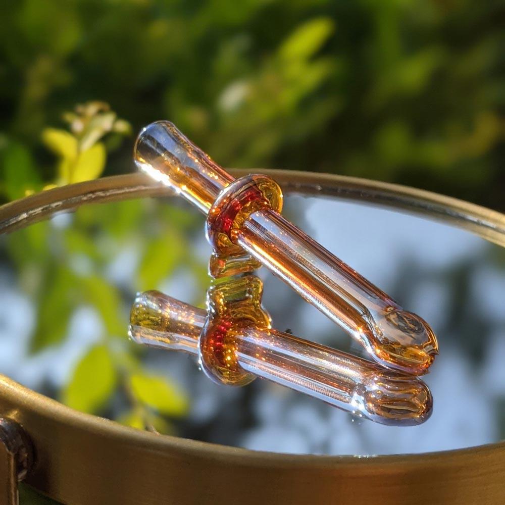 Amber Rose glass joint holder